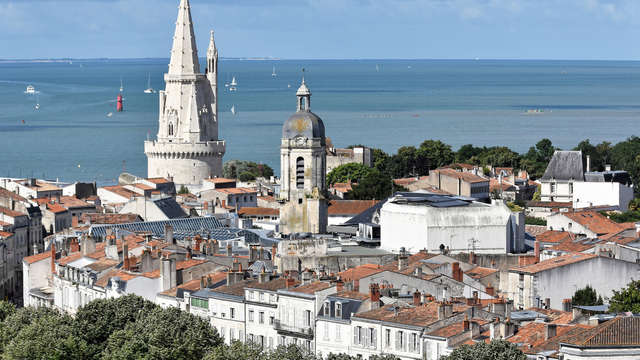 Webcam La Rochelle - Point de vue sur la Tour de La Lanterne